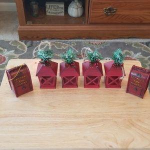 6 Christmas Ornaments